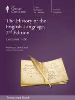 History of the English Language, 2nd Edition (Transcript)