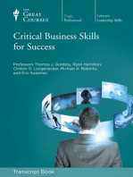 Critical Business Skills for Success (Transcript)