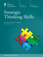Strategic Thinking Skills (Transcript)