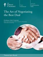 The Art of Negotiating the Best Deal (Transcript)