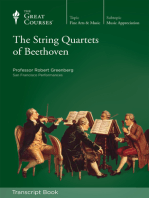 The String Quartets of Beethoven (Transcript)