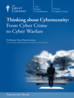 Thinking About Cybersecurity: From Cyber Crime to Warfare (Transcript)