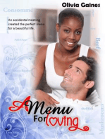 A Menu For Loving