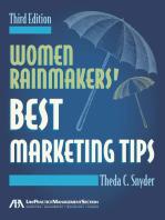 Women Rainmakers' Best Marketing Tips