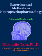 Experimental Methods in Neuropsychopharmacology