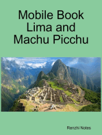 Mobile Book Lima and Machu Picchu