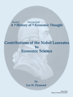 A Recent History of Recognized Economic Thought: Contributions of the Nobel Laureates to Economic Science