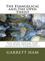 The Evangelical and The Open Theist