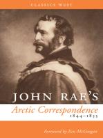 John Rae's Arctic Correspondence, 1844-1855