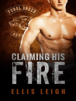 Claiming His Fire (Feral Breed Motorcycle Club, #5)