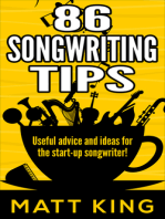 86 Songwriting Tips