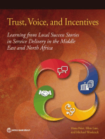 Trust, Voice, and Incentives: Learning from Local Success Stories in Service Delivery in the Middle East and North Africa