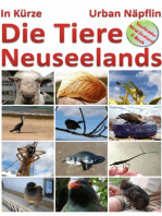 Die Tiere Neuseelands in Kürze