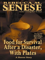 Food for Survival After a Disaster, With Plates