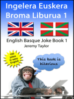 Ingelera Euskera Broma Liburua 1 (The English Basque Joke Book 1)