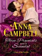 Three Proposals and a Scandal