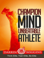 Champion Mind Unbeatable Athlete