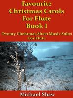 Favourite Christmas Carols For Flute Book 1