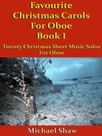 Favourite Christmas Carols For Oboe Book 1
