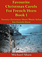 Favourite Christmas Carols For French Horn Book 1