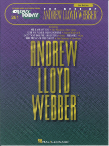 The Best of Andrew Lloyd Webber (Songbook): E-Z Play Today Volume 261