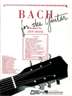 Bach for Guitar: Guitar Solo