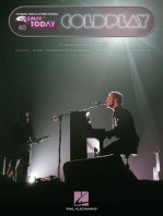 Coldplay: E-Z Play Today Volume 40