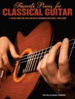 Favorite Pieces for Classical Guitar