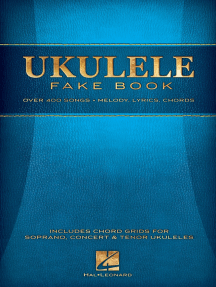 Ukulele Fake Book: 5.5 x 8.5 Edition