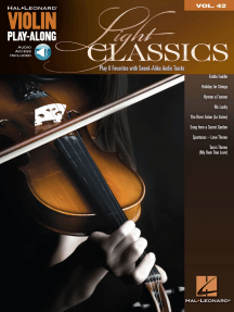 Light Classics: Violin Play-Along Volume 42