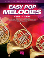 Easy Pop Melodies: for Horn