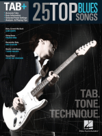 25 Top Blues Songs - Tab. Tone. Technique.: Tab+