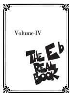 The Real Book - Volume IV: Eb Edition
