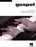 Gospel: Jazz Piano Solos Series Volume 33