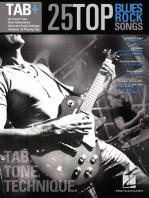 25 Top Blues/Rock Songs - Tab. Tone. Technique.