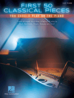 First 50 Classical Pieces You Should Play on the Piano