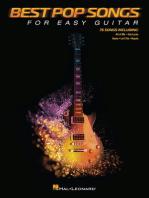 Best Pop Songs for Easy Guitar: (No Tab)