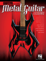 Guitar World Presents Metal Guitar Lessons