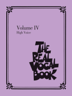 The Real Vocal Book - Volume IV: High Voice