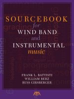 Sourcebook for Wind Band and Instrumental Music