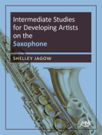 Intermediate Studies for Developing Artists on Saxophone