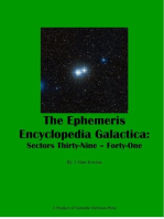 The Ephemeris Encyclopedia Galactica Sectors Thirty-Nine