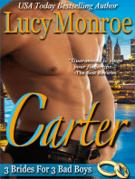 Carter (A 3 Brides for 3 Bad Boys Novella)
