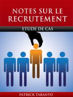 Notes Sur Le Recrutement