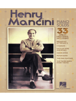 Henry Mancini Piano Solos