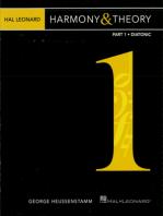 Hal Leonard Harmony & Theory - Part 1