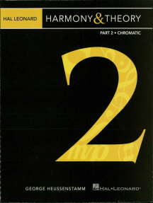 Hal Leonard Harmony & Theory - Part 2: Chromatic
