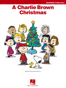 A Charlie Brown Christmas(TM): Beginning Piano Solos