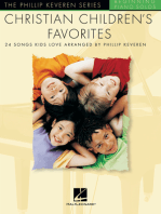 Christian Children's Favorites: The Phillip Keveren Series