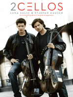 2Cellos: Luka Sulic & Stjepan Hauser - Revised Edition: An Accessible Guide to 11 Original Arrangements for Two Cellos